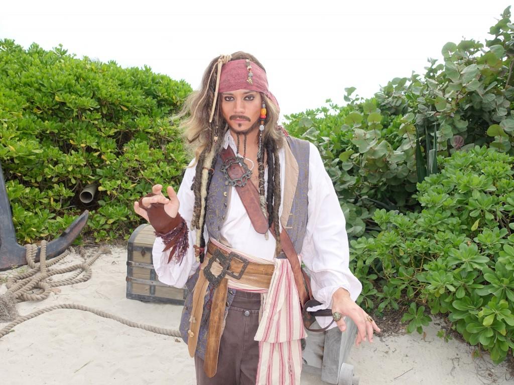 WDW旅行記ブログ/DCL旅行記ブログ ディズニークルーズライン4泊バハマ航路 キャスタウェイケイでのキャラクターグリーティング