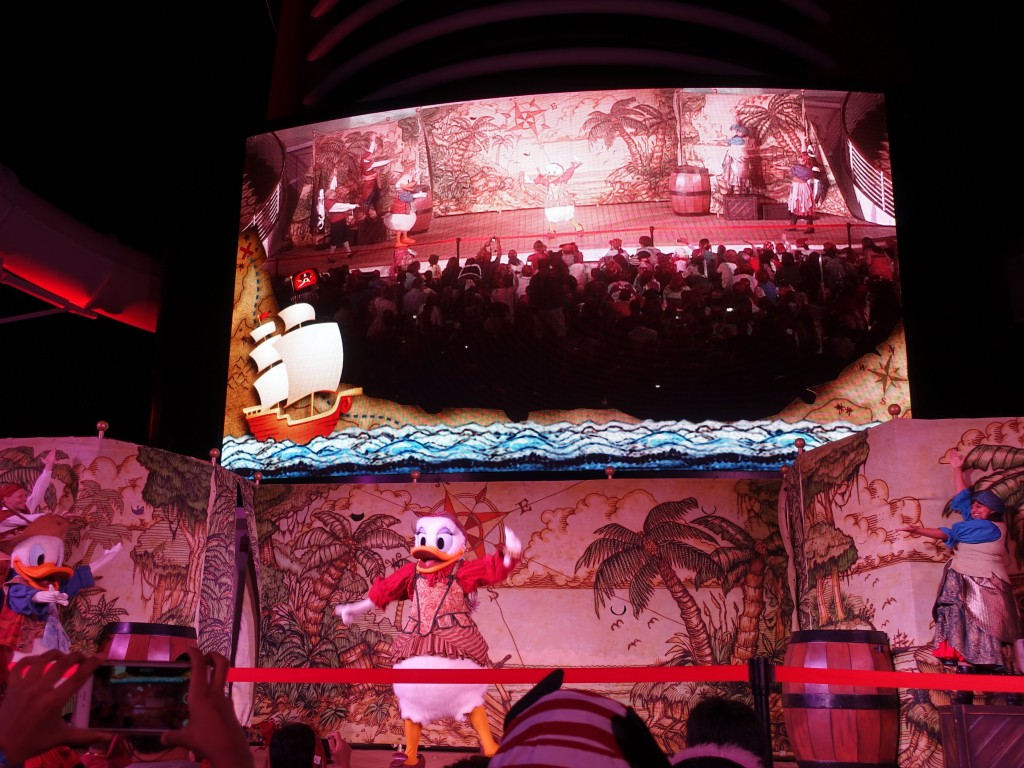 WDW旅行記ブログ/DCL旅行記ブログ ディズニークルーズライン4泊バハマ航路 パイレーツナイトのショー