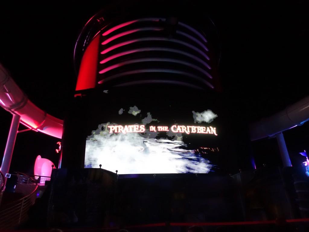 WDW旅行記ブログ/DCL旅行記ブログ ディズニークルーズライン4泊バハマ航路 パイレーツナイトの船上花火&パイレーツブッフェ