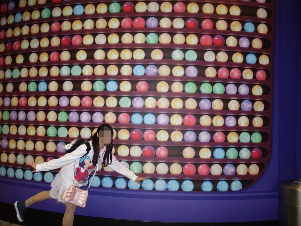 WDW旅行記ブログ/DCL旅行記ブログ エプコットキャラクタースポット ミッキー・ミニー・グーフィー・ベイマックス・ヨロコビ&カナシミ(インサイドヘッド)グリーティング