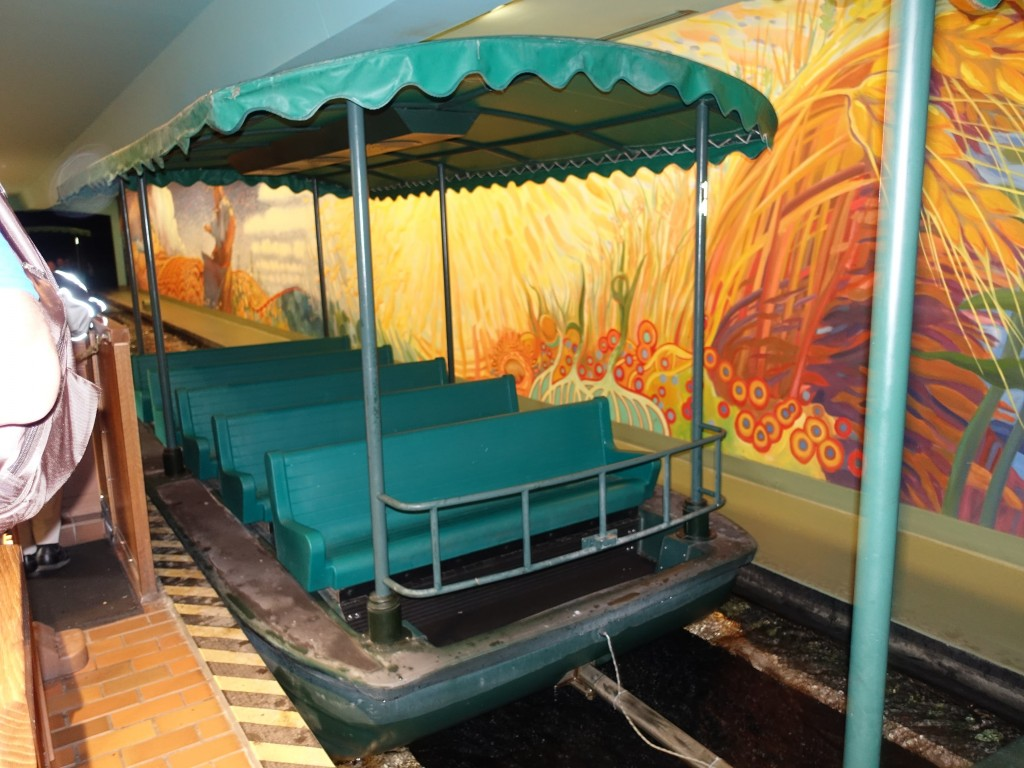 WDW旅行記ブログ/DCL旅行記ブログ エプコット テストトラック リビングウィズザランド