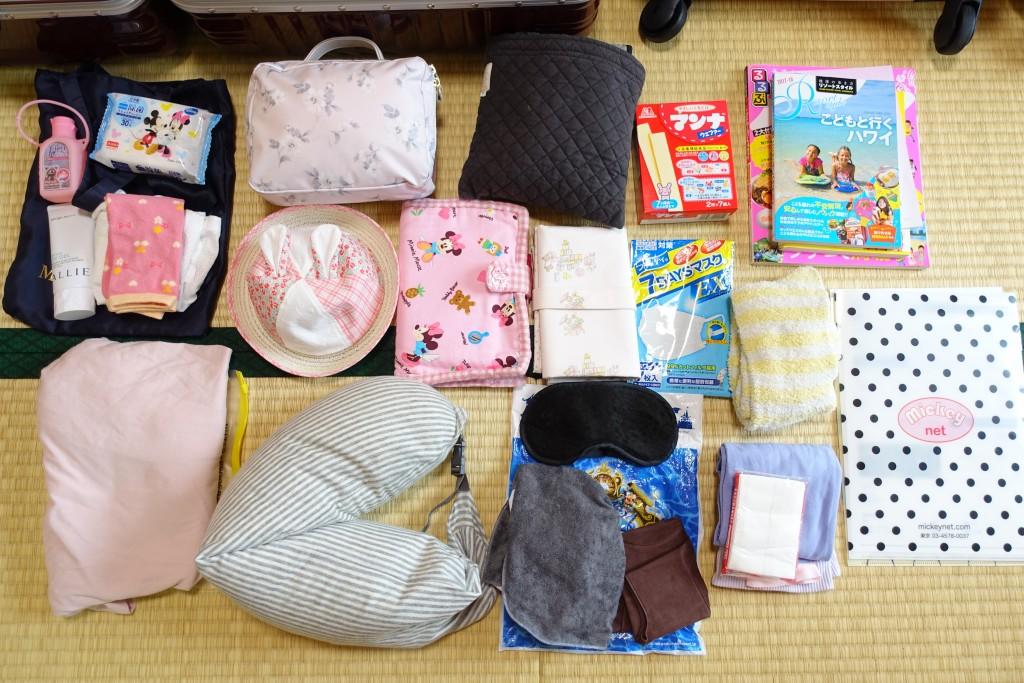 0歳の子連れハワイ旅行 持ち物リスト*アウラニディズニーリゾート5泊7日の旅ブログ