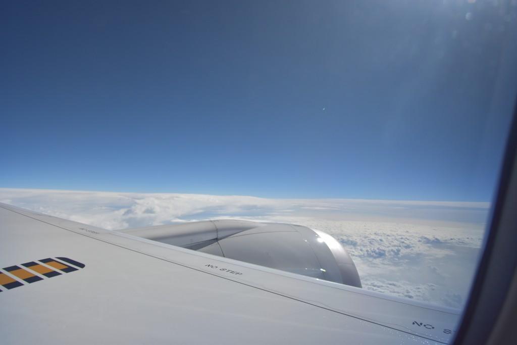 アウラニ旅行記2018*3〜フライト!赤ちゃん連れANA機内での過ごし方。バシネットや機内離乳食の写真もレポート♪【子連れハワイ旅行ブログ】